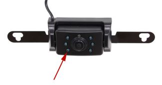 Peak Performance backup camera has LEDs for Night Vision