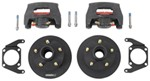 "Kodiak Disc Brake Kit - 8"" Rotor/Hub - 5 on 4-1/2 - E-Coat - 2,000 lbs"
