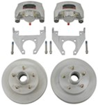 "Kodiak Disc Brake Kit - 10"" Hub/Rotor - 5 on 4-1/2 - Dacromet and Stainless - 3,500 lbs"