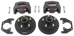 "Kodiak Disc Brake Kit - 8"" Rotor/Hub - 5 on 4-1/2 - E-Coat - 3,500 lbs"