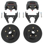 "Kodiak Disc Brake Kit - 10"" Hub/Rotor - 5 on 4-1/2 - Raw Finish - 3,500 lbs"