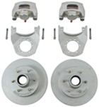 "Kodiak Disc Brake Kit - 12"" Hub/Rotor - 6 on 5-1/2 - Dacromet and Stainless - 6,000 lbs"