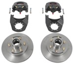 "Kodiak Disc Brake Kit - 12"" Hub/Rotor - 6 on 5-1/2 - Raw Finish - 5,200 lbs to 6,000 lbs"