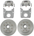 "Kodiak Disc Brake Kit - 13"" Hub/Rotor - 8 on 6-1/2 - Dacromet - 7,000 lbs"