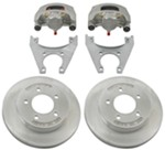 "Kodiak Disc Brake Kit - 10"" Rotor - 5 on 4-1/2 - Dacromet and Stainless Steel - 3,500 lbs"