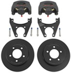 "Kodiak Disc Brake Kit - 10"" Rotor - 5 on 4-1/2 - E-Coat - 3,500 lbs"