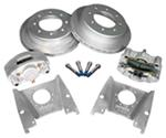 "Kodiak Disc Brake Kit - 13"" Rotor - 8 on 6-1/2 - Silver Cad - 1/2"" Bolts - 7,000 lbs"