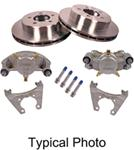 "Kodiak Disc Brake Kit - 13"" Rotor - 8 on 6-1/2 - Stainless Steel - 1/2"" Bolts - 7,000 lbs"