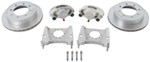 "Kodiak Disc Brake Kit - 13"" Rotor - 8 on 6-1/2 - Silver Cad - 9/16"" Bolts - 7,000 lbs"