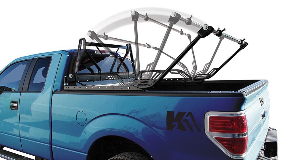 Detail K2 Flip Rack Fold Down Ladder Rack 500 Lbs Detail