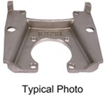Replacement Caliper-Mounting Bracket for Kodiak Disc Brakes - Stainless Steel - 8,000-lb Dexter Axle