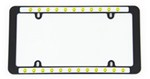 Smiley Faces License Plate Frame