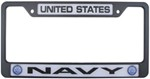 United States Navy License Plate Frame