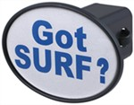 "Got Surf 2"" Trailer Hitch Receiver Cover"
