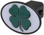 "Shamrock 2"" Trailer Hitch Receiver Cover"