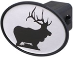 "Elk 2"" Trailer Hitch Receiver Cover"