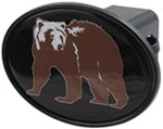 "Grizzly Bear 2"" Trailer Hitch Receiver Cover"