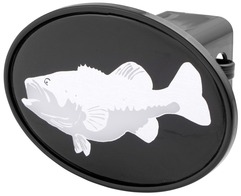Compare largemouth bass vs bass trailer hitch for Fish hitch cover