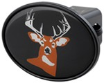"Whitetail Deer 2"" Trailer Hitch Receiver Cover"