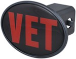 "Veteran 2"" Trailer Hitch Receiver Cover"