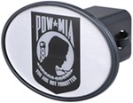 "POW MIA 2"" Trailer Hitch Receiver Cover"