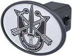 "Special Forces 2"" Trailer Hitch Receiver Cover"