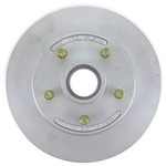 "Kodiak 10"" Hub-and-Rotor Assembly - 5 on 4-1/2 - Dacromet - 3,500 lbs"