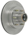 "Kodiak 12"" Hub-and-Rotor Assembly - 6 on 5-1/2 - Raw Finish - 5,200 lbs to 6,000 lbs"