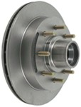 "Kodiak 13"" Hub and Rotor - 8 on 6-1/2 - Raw Finish - 1/2"" Bolts - 7,000 lbs"