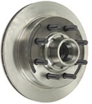 "Kodiak 13"" Hub and Rotor - 8 on 6-1/2 - Raw Finish - 5/8"" Bolts - 7,000 lbs to 8,000 lbs"