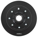 "Kodiak 13"" Hub and Rotor - 8 on 6-1/2 - E-Coat - 9/16"" Bolts - 7,000 lbs to 8,000 lbs"