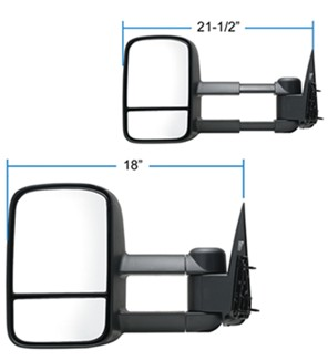 K-Source Towing Mirror Dimensions