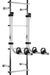 Stromberg Carlson 2 Bike Carrier for RVs - Ladder Mount - Aluminum