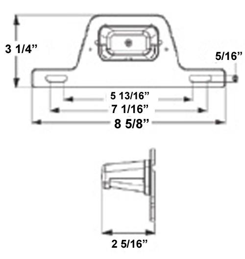 gray  mounting bracket  2
