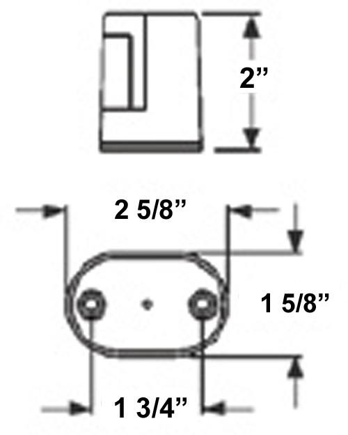 license  gray housing  adhesive mount  1
