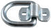 "Trailer D-Ring Tie Down, Bolt On 2-1/2"" x 2-3/8"" Surface Mount"