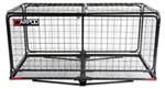 "24x48-3/4 Carpod Walled, Folding Cargo Carrier for 2"" Hitches - w/ Lid - 5"" Rise - 450 lbs"