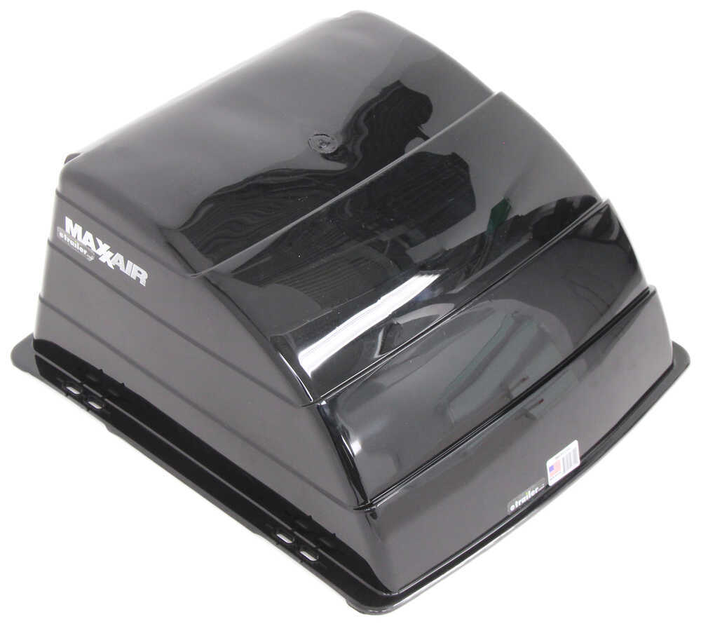 Maxxair Black Trailer Roof Vent Cover Maxxair Rv And