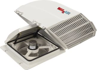 Maxxfan Plus Roof Vent W 12v Fan Thermostat And Remote