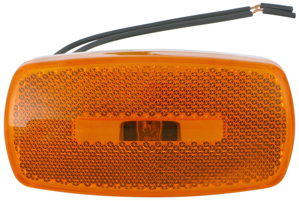 Rectangular Trailer Clearance Side Marker Light With