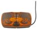 Double Bullseye Trailer Clearance, Side Marker Light, Two-Bulb - Amber