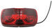 Double Bullseye Trailer Clearance, Side Marker Light, Two-Bulb - Red