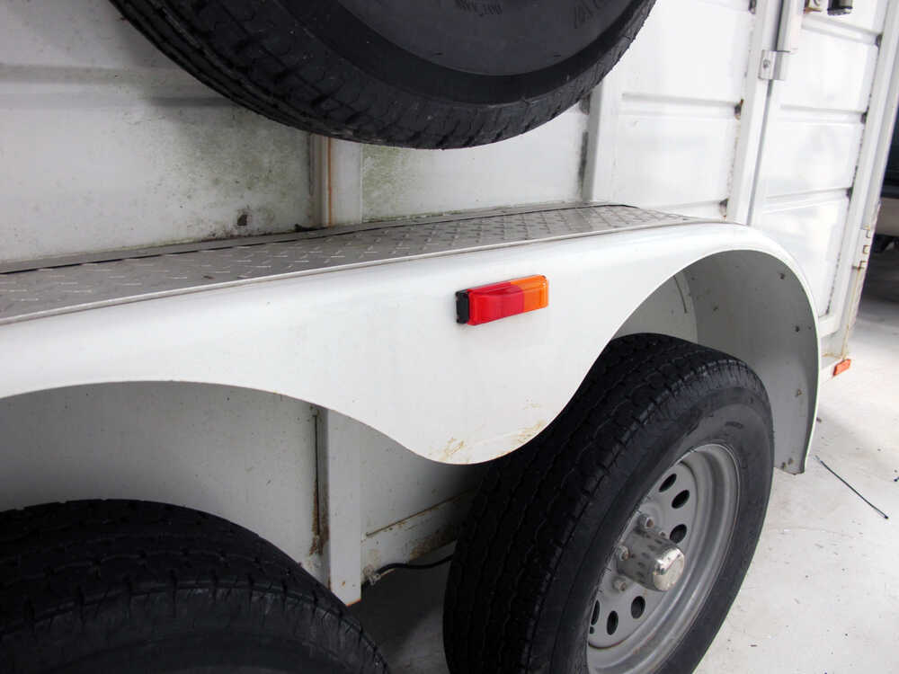 Sealed  Thin Line Fender Trailer Clearance Light For
