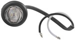 Uni-Lite Mini LED Side Marker/Clearance Light w/ Grommet - 2 Diode - Sealed - Amber w/Clear Lens