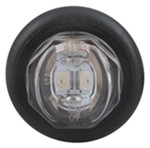 Uni-Lite Mini LED Side Marker/Clearance Light w/ Grommet - 2 Diode - Sealed - Red w/Clear Lens