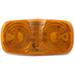 Double Bullseye LED Trailer Clearance and Side Marker Light, 2 Wire, 6 Diode - Amber