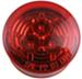 "Sealed, Miro-Flex, 2-1/2"" Round, LED Side Marker, Clearance or ID Light, 3 Diode - Red"