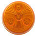 "LED Trailer Clearance/Side Marker Light - 4 Diode, 12 Volts - Sealed - 2"" Round - Amber"