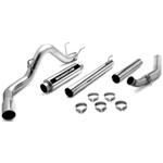 MagnaFlow Performance Stainless Steel Turbo-Back Exhaust System - Diesel