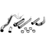 MagnaFlow XL Stainless Steel Turbo-Back Exhaust System - Diesel
